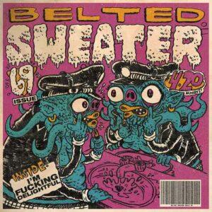 Belted Sweater - I'm Fucking Delightful
